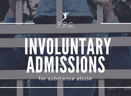 Involuntary admission for alcohol/drug users.