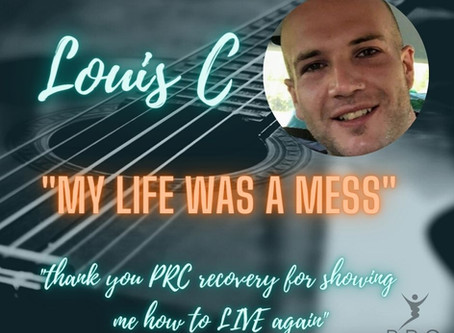 Thank you PRC Recovery for showing me how to live again