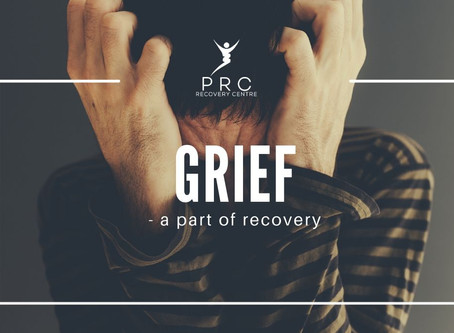 Grief - a part of recovery.