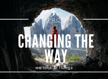 Changing the way we look at things.