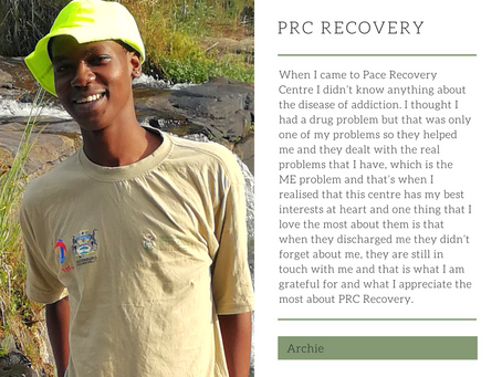 God bless PRC Recovery and be with them until the end of time