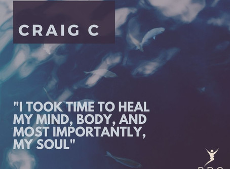 I took time to heal my mind, body and most importantly, my soul