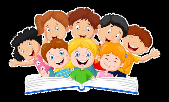 16-161483_reading-kids-clipart-children-