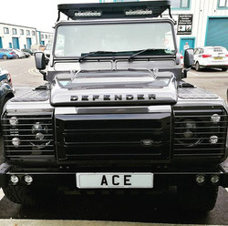 This awesome Defender got the full valet treatment yesterday. This really is a 'go anywhere' vehicle