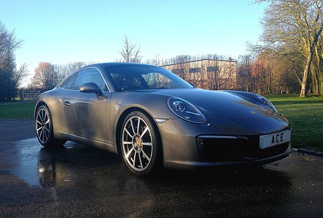 This beautiful Porsche got valeted by ACE today