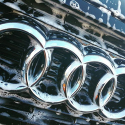 Audi A3 getting ready for polishing
