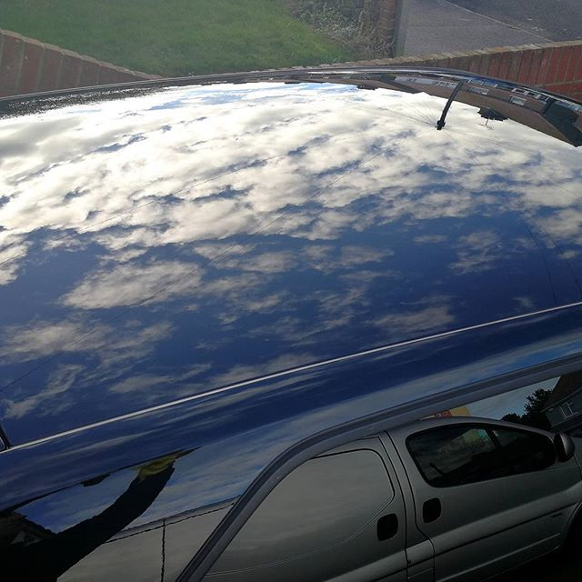 Gotta love a coat of polish!_#shine #polish #wax #cleancar #valet #shiny #photooftheday #picoftheday