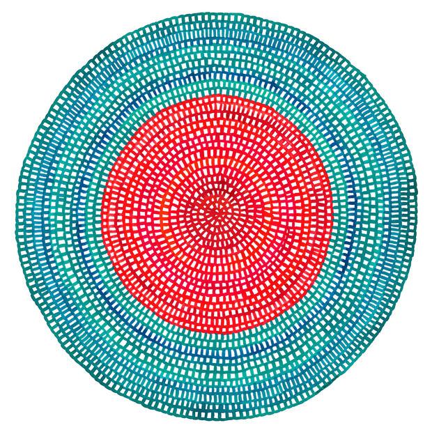 Crochet Web Mandala No.110 by Chelsea Ho