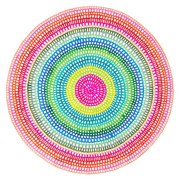 Crochet Web Mandala No.106, ChelseaHopki