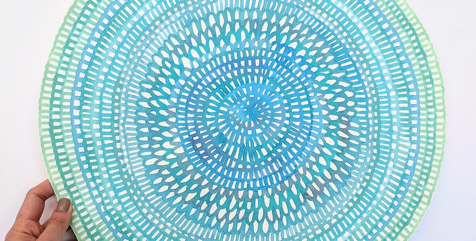 Original Crochet Web Mandala No.92 // 410mm