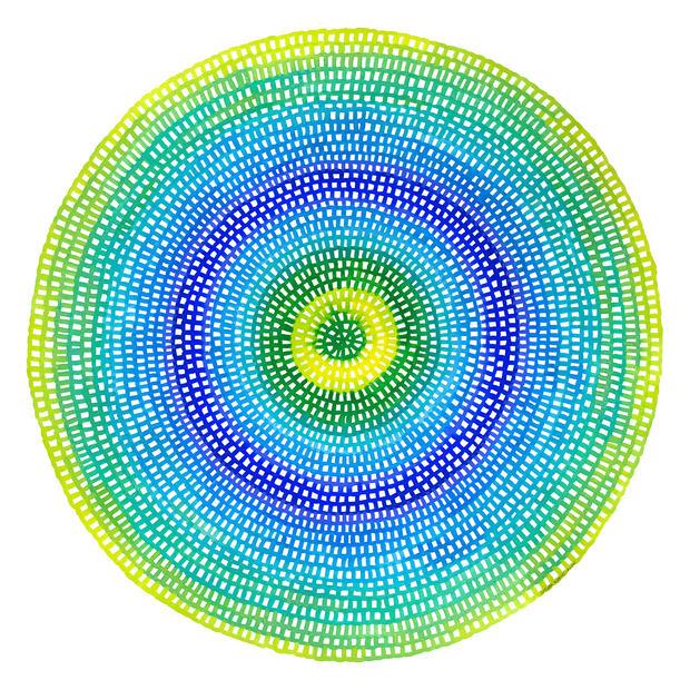 Crochet Web Mandala No.114 by Chelsea Ho
