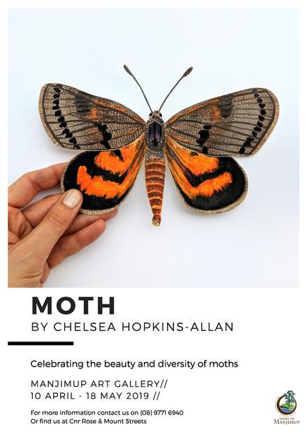 Moth Exhibition Flyer_Manjimup exhibitio