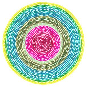Crochet Web Mandala No.119 by Chelsea Ho
