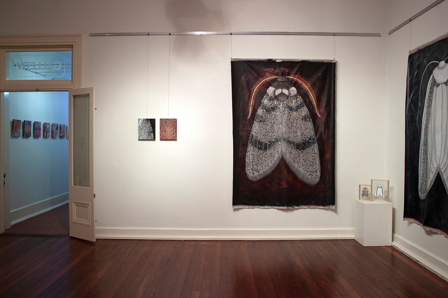 MOTH exhibition at the VAC, Chelsea Hopk