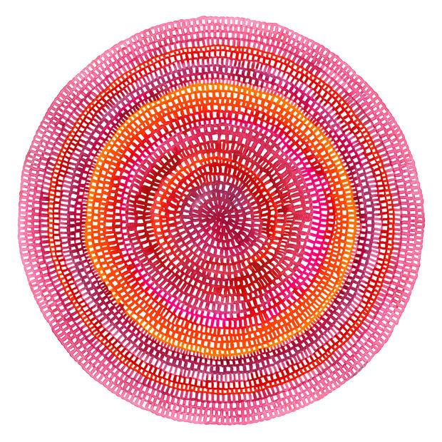 Crochet Web Mandala No.104 by Chelsea Ho