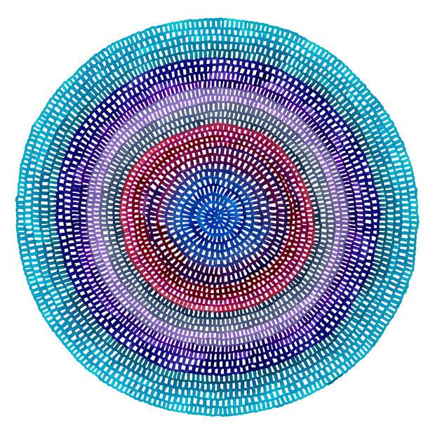Crochet Web Mandala No.128 by Chelsea Ho