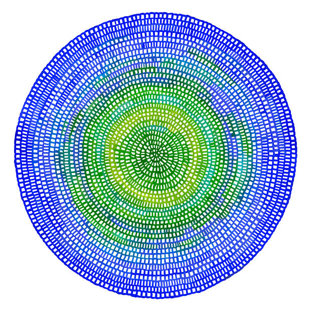 Crochet Web Mandala No.111 by Chelsea Ho