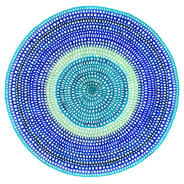 Crochet Web Mandala No.141 Web Sized Ima