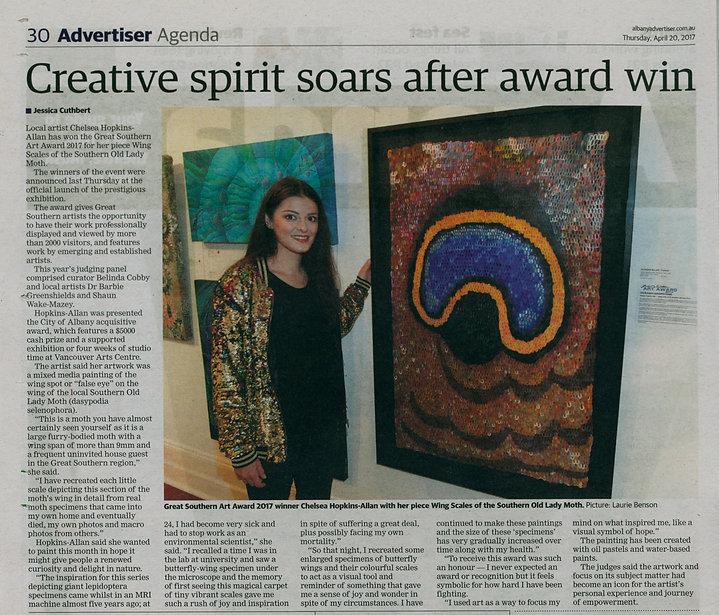 Albany Advertiser Great Southern Art Awa