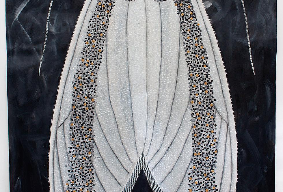 Boisduvals Autumn Moth, Oenosandra boisduvalii - FEMALE