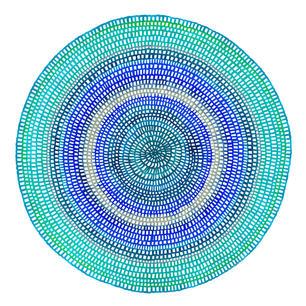 Crochet Web Mandala No.150 - web sized C