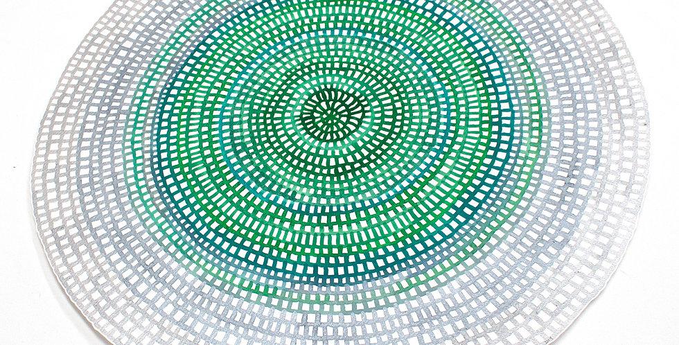 Original Crochet Web Mandala No.170 // 430mm