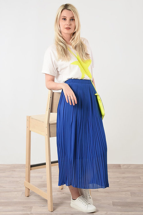 Harriet Fine Pleated Skirt