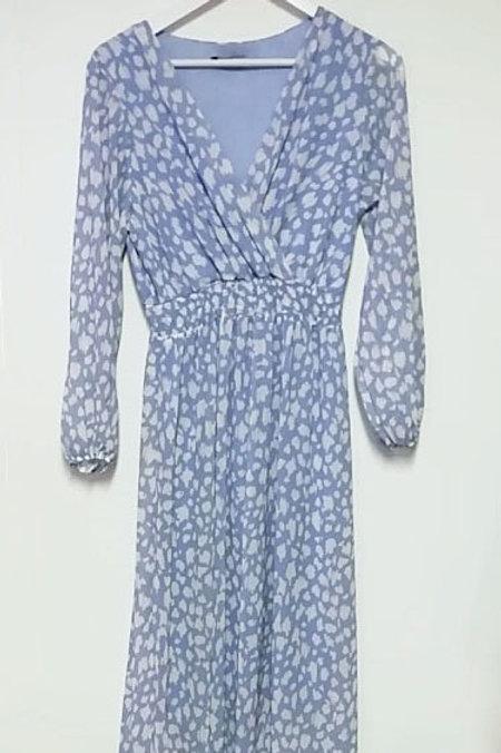 Violetta Ditsy Print Maxi Dress