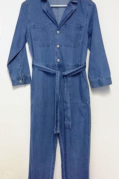 Denim Boiler suit