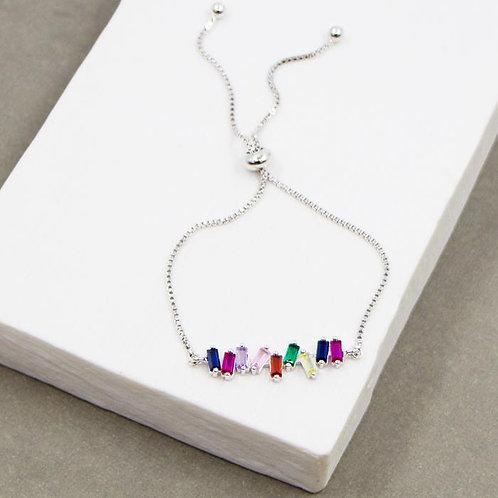 Colours of the Rainbow Friendship Bracelet
