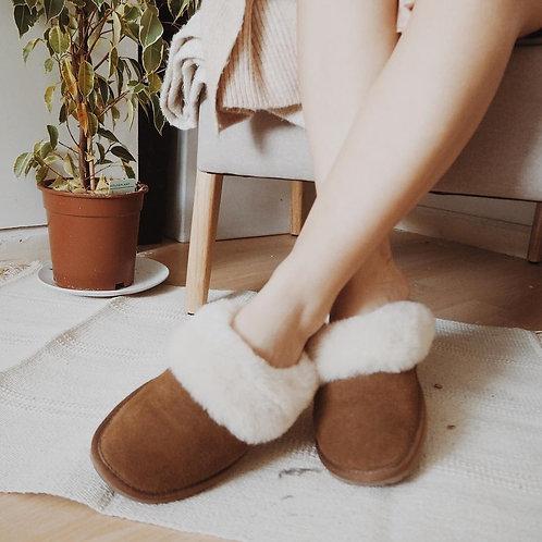 EMU Jolie Slippers - Chestnut