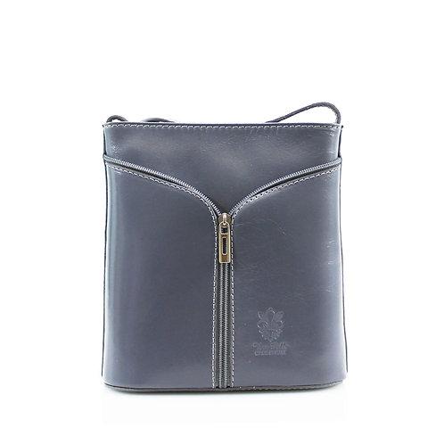 Noemi Zip Leather Bag
