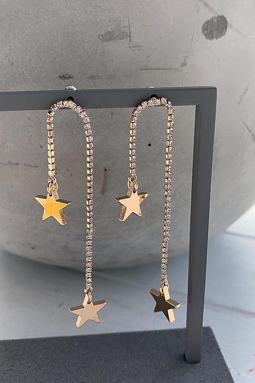 Laura Falling Star Earrings