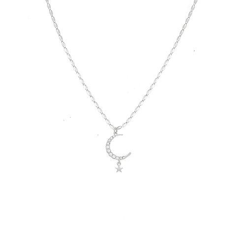 Kate Thornton Celestial Moon Necklace