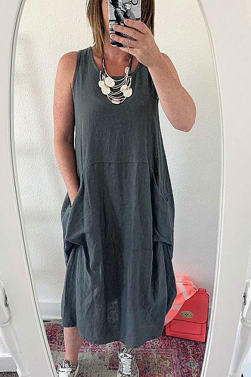 Bella Linen Dress