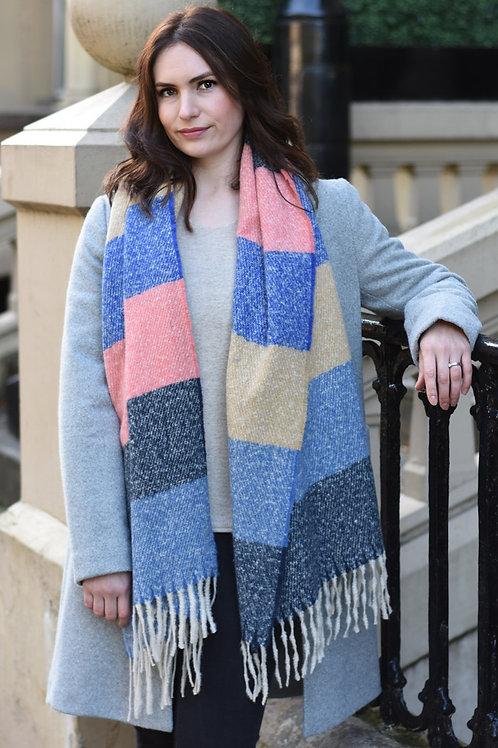 Panelled Blanket Scarf