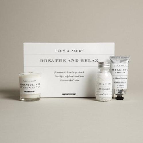 Plum & Ashby Breathe & Relax Gift Set