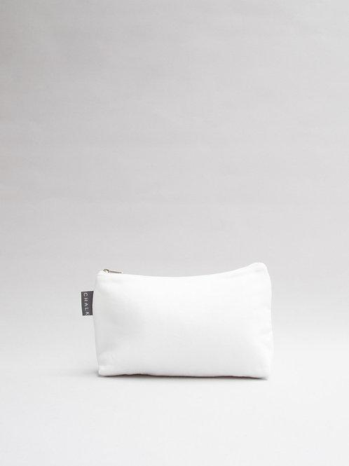 Chalk Small Cotton Wash Bag