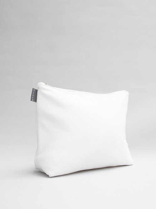 Chalk Large Cotton Wash Bag