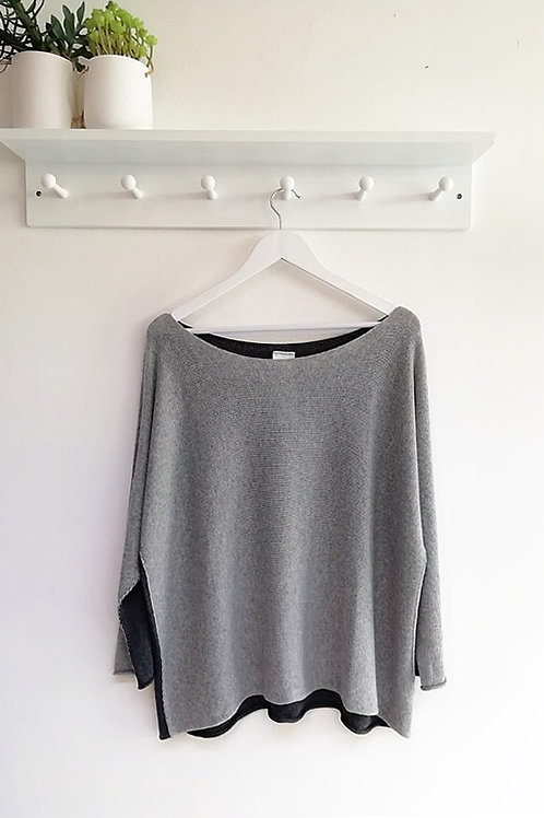 Sally Two Tone Jumper