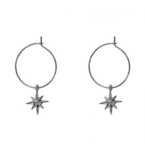 Ilaria Tiny Star Silver Earrings