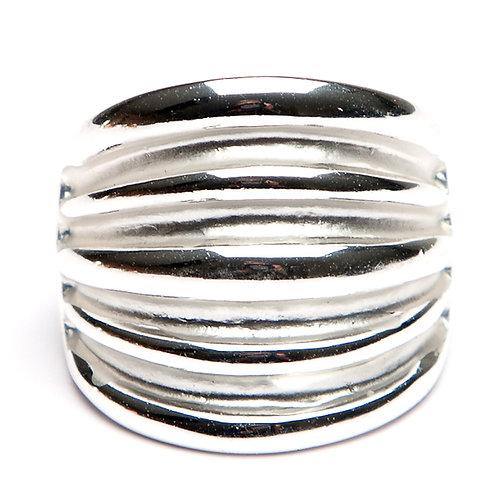 Chunky Ridged Ring