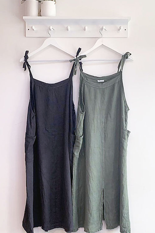 Lucia Italian Linen Dress