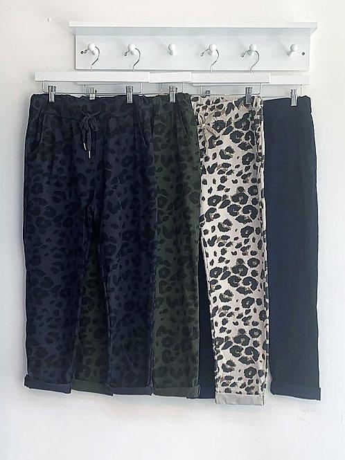 Athena Leopard Joggers