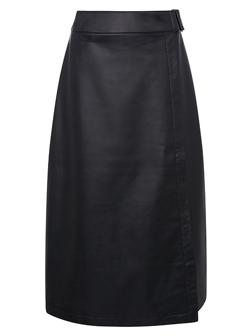 Great Plains Clayton Luxe Faux Leather Skirt