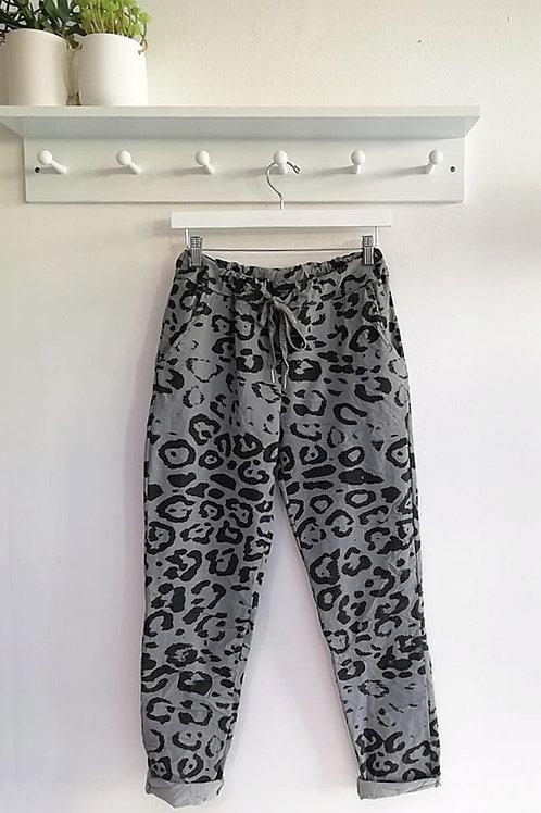 Sofia Leopard Print Magic Trousers