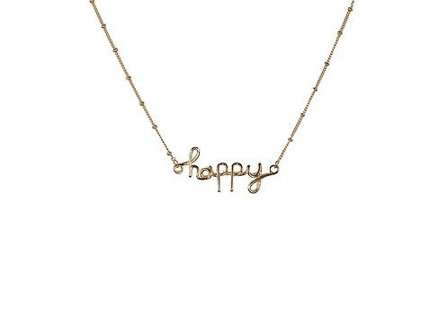 Melania Happy Necklace