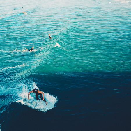 San Clemente Surfer