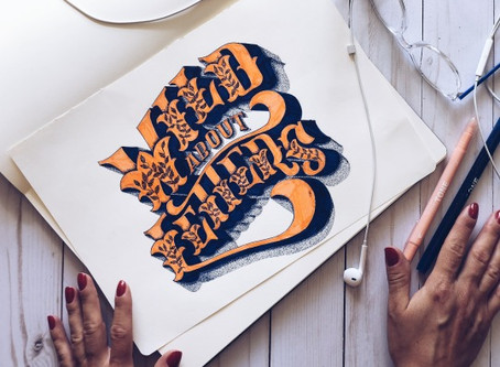 My Lettering Process, from Beginning to End.