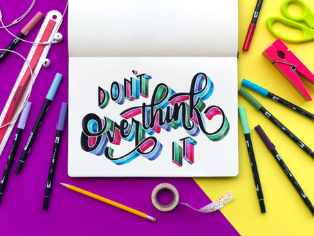 Create a Colorful 3D Effect to your Lettering